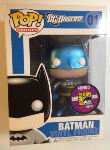 Blue Metallic Batman