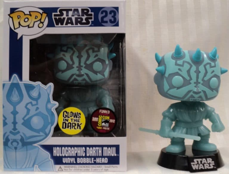 Darth Maul Olografico funko pop