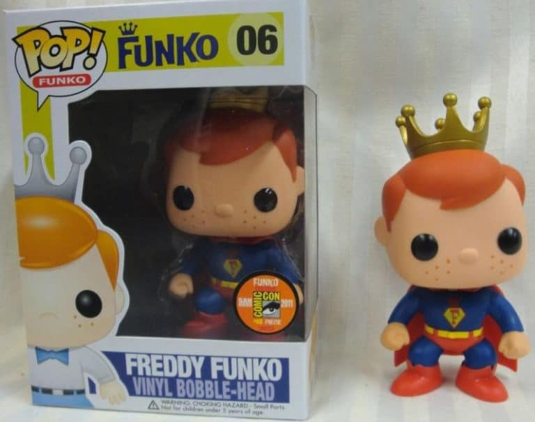 Freddy Funko San Diego Comic Con Exclusive POP