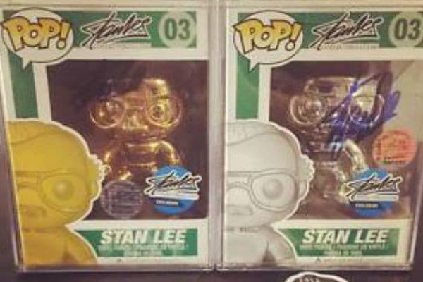 Stan Lee versione Metallic, Gold e Platinum
