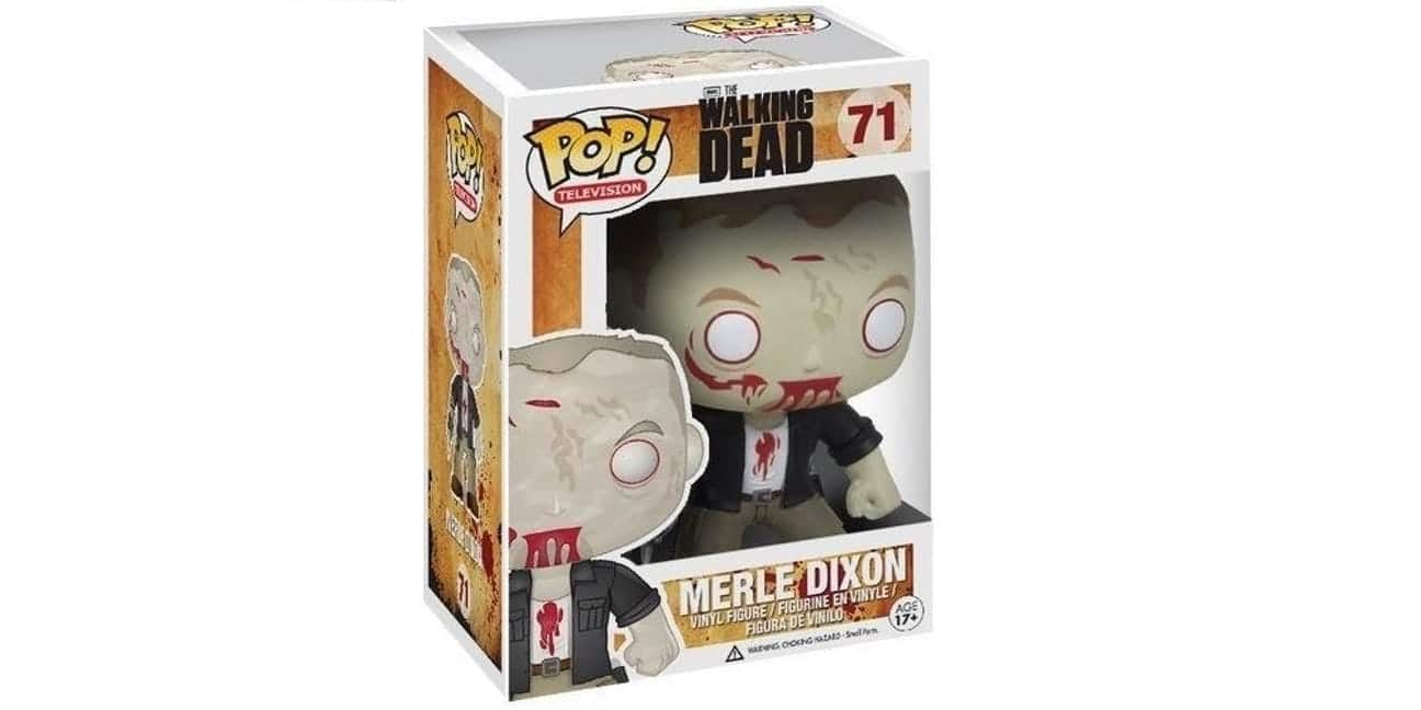 Merle Dixon Walking Dead Funko Pop