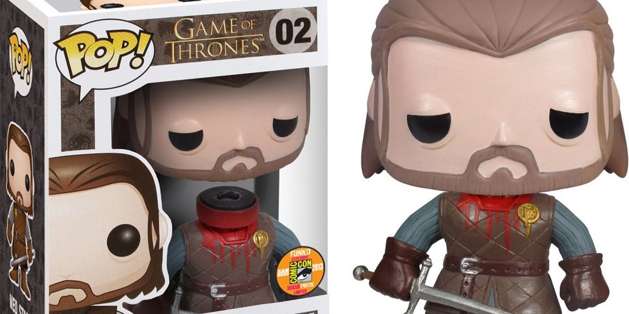 Ned Stark decapitato Funko Pop