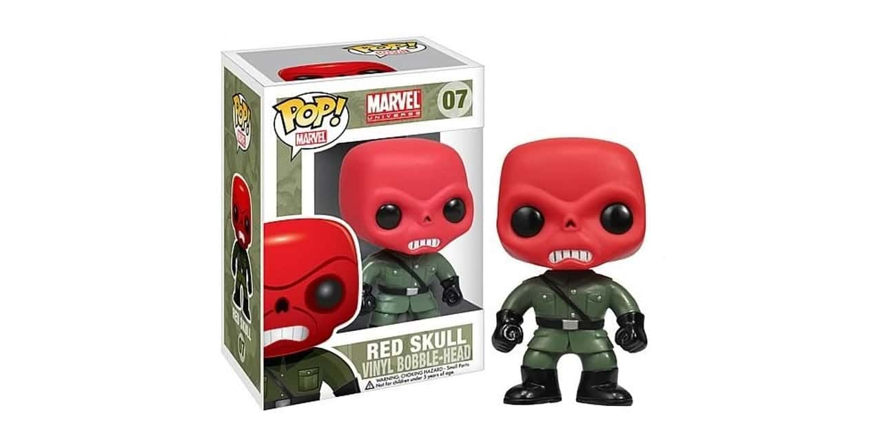 Teschio Nero Red Skull Funko Pop
