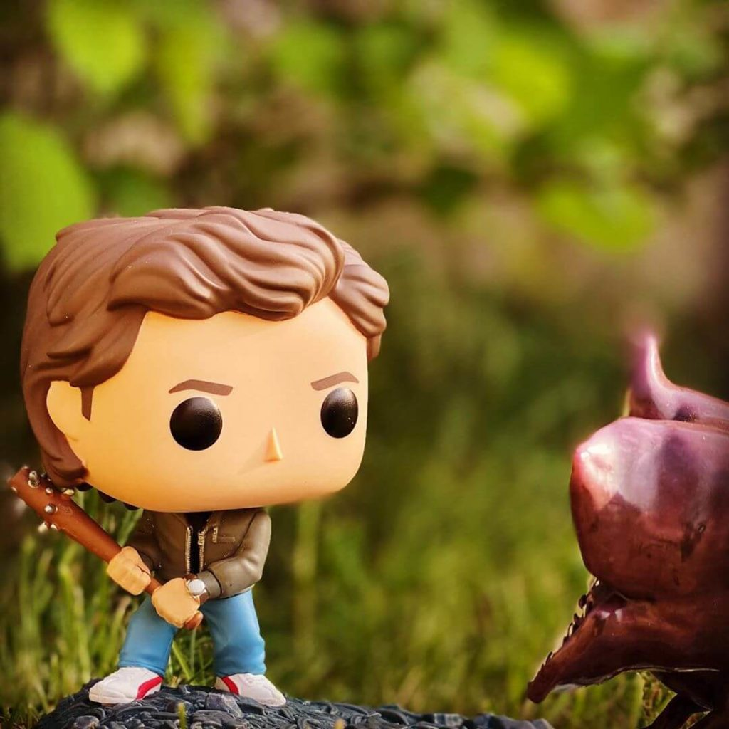 Funko Pop Stranger Things Steve e demogorgone